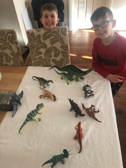 boys dinosaur